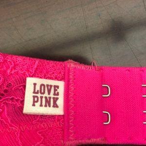 fdc9a5995e0ee PINK Victoria s Secret Intimates   Sleepwear - VS PINK Heartbreaker! Plunge  Push-Up Bra